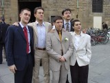 Matteo's Wedding: One of my best friends Matteo was getting married, the first of our group to go.. DOUBLE SHOCK!