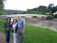 Chepstow: A short weekend trip to Chepstow to visit Louise, Ian and Vera (while Robin was away in Vienna).