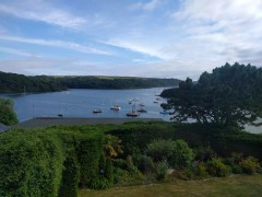Cornwall July 2016: A week's holiday on the Roseland Peninsula in Cornwall with extended family.