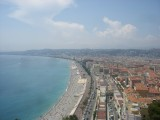 Cote d'Azur: A week's holiday on the French Riviera, based in Nice, including trips to Cannes, Juan-les-Pins, Eze, Ventimiglia and Monaco.
