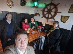 Devon and South Wales Christmas 2019: A Christmas trip to see family taking in Devon and South Wales, with an in-between day in Somerset.