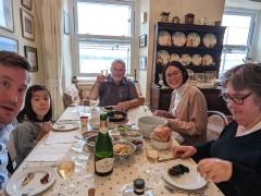 Devon September 2021: Three nights in Devon to visit Dad, coinciding with his birthday.