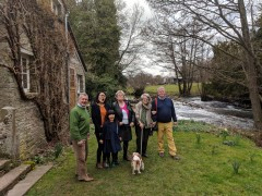 Herefordshire Easter 2018: A three night stay over the Easter weekend in a cottage by the river Monnow in Clodock, Herefordshire, with forays over the border into Wales to visit family.