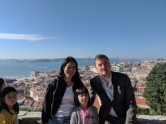 Lisbon October 2018: Five nights in Lisbon during half term week with Leon and family.