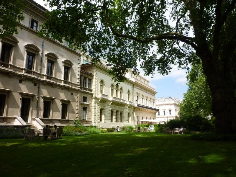 London open garden squares weekend saturday london for 17 carlton house terrace london