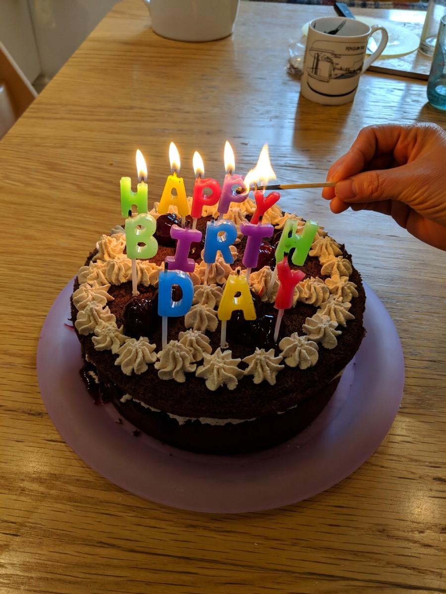 Birthday Cake London March 2018