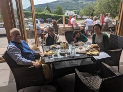 Monmouthshire May/June 2019: Three nights in Monmouthshire to visit the local vineyards and to see Vera and Robin.