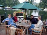 Night Out in Pangbourne: A tour of Pangbourne's watering holes and eateries with Simon and Susannah.