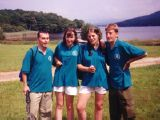 Camp: Pictures of me helping out (?) at a school camp in the lake district.