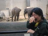 London Zoo: Myself and Chie having a lovely day out at the zoo.