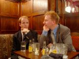 RAF Club with Tom: [Thursday 31st October 2002] Tom's first visit to the RAF Club.