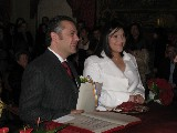 Fabio and Camilla Wedding: Fabio and Camilla married in Palazzo Vecchio today! Lovely ceremony and grand reception!